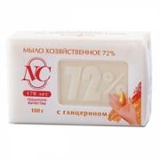 Невская косметика Мыло хозяйственное с глицерином 72% 180 г