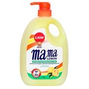 Mama Lemon Гель для мытья посуды и детских принадлежностей лимон 1 л