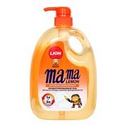 Mama Lemon Гель для мытья посуды и детских принадлежностей антибактериальный 1 л