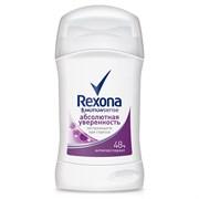 Rexona Антиперспирант Абсолютная уверенность стик женский 40 мл