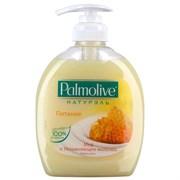 Palmolive Жидкое мыло Натурэль Питание Мед и Увлажняющее молочко 300 мл