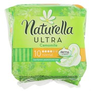 Naturella Ultra Гигиенические прокладки Camomile normal 10 шт ароматизированные с крылышками