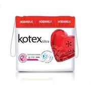 Kotex Гигиенические прокладки Ultra Super с крылышками и сеточкой  8 шт